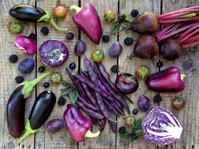 9 фиолетовых продуктов, невероятно полезных для здоровья -  foodandmood.com.ua