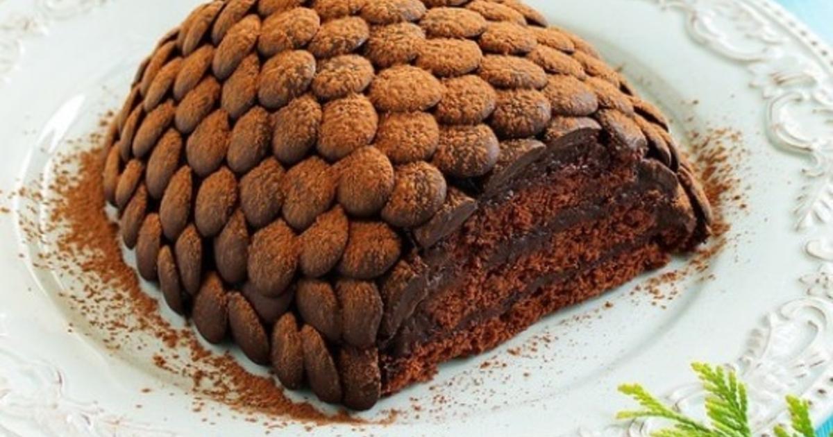 собственными торт шишка на сметане рецепт с фото этот вариант