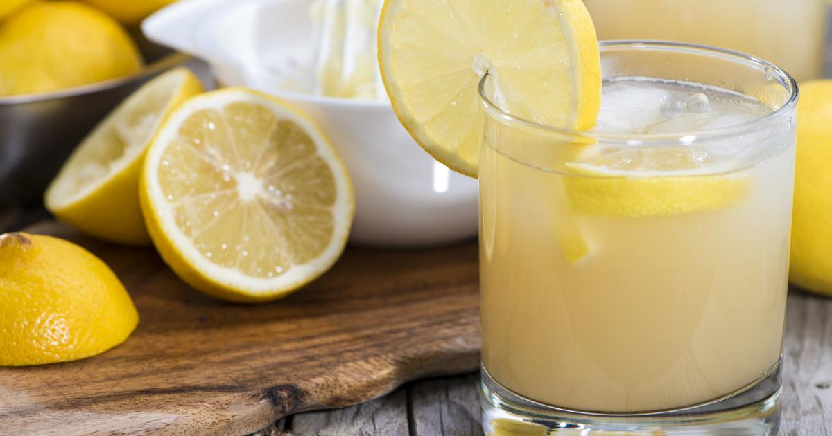Диета вода с лимонным соком